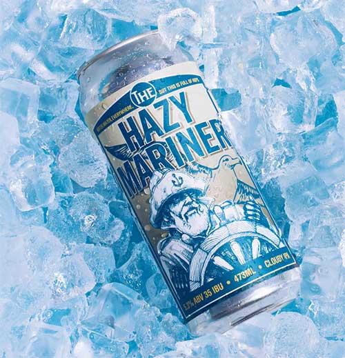 The Hazy Mariner Beer in ice